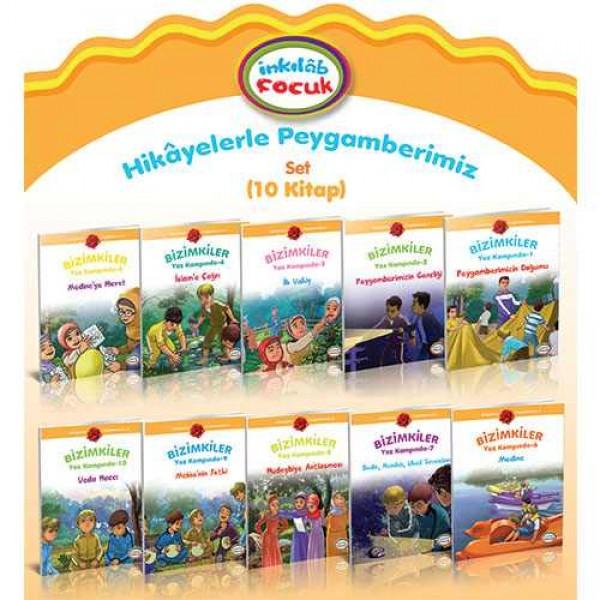 Hikâyelerle Peygamberimiz / Bizimkiler Yaz Kampında (Set 10 kitap)