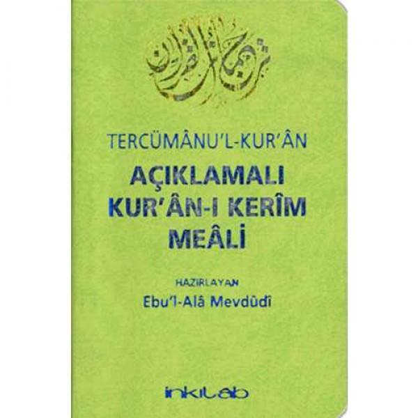 Açıklamalı Kurân-ı Kerim Meali Tercümânul-Kurân / Türkçe (Cep Boy 9x13 )