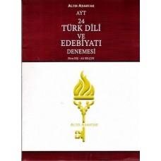 Altın Anahtar AYT Türk Dili ve Edebiyatı 24 lü Denemesi