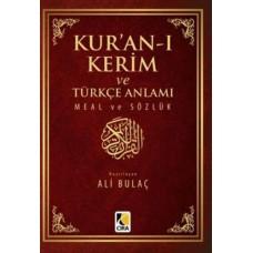 Kuranı Kerim ve Türkçe Anlamı Meal ve Sözlük Cep Boy